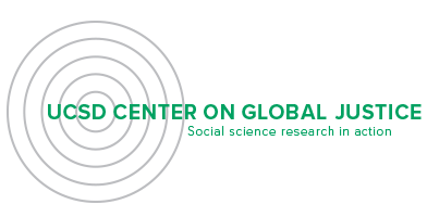 The Center on Global Justice (CGJ) is an Organized Research Unit (ORU) at UC San Diego, launched in 2012 to advance interdisciplinary research on poverty and global development, with an emphasis on collective action at community scale.